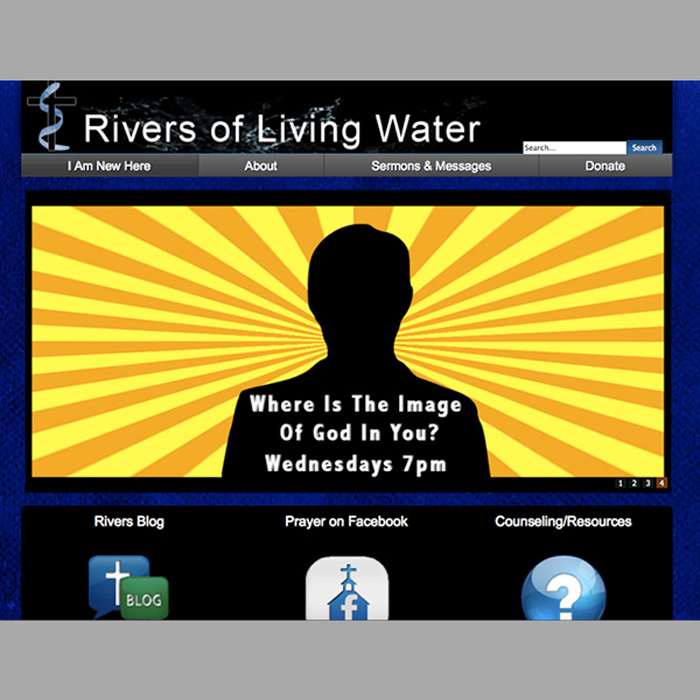 Rivers of Living Water Church Website