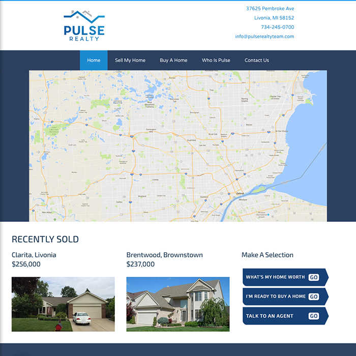 Paulse Realty Website